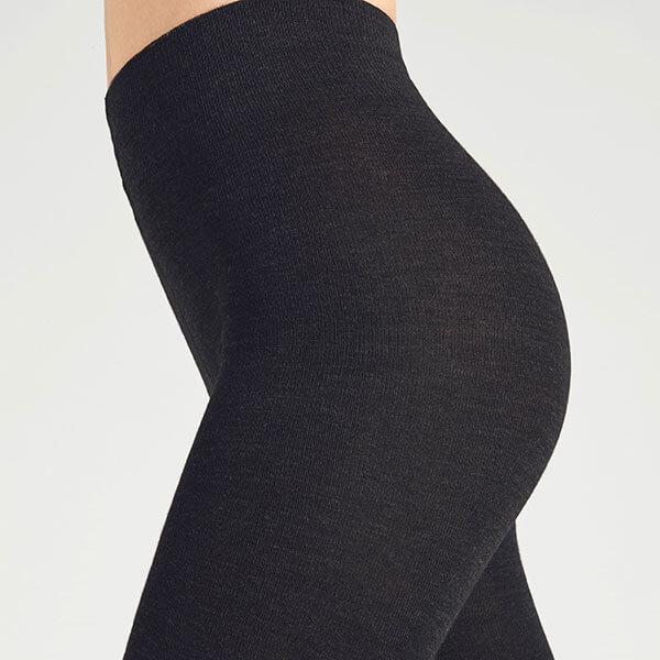 47b8f2308 FALKE Softmerino Wool Tights - Black • Strip Boutique
