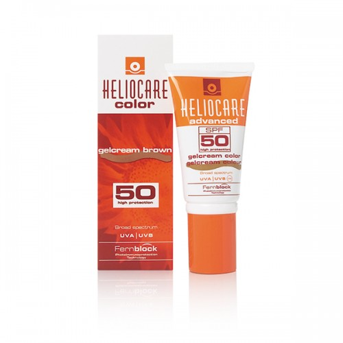 GELCREAM COLOUR BROWN HELIOCARE STRIPWAXBAR