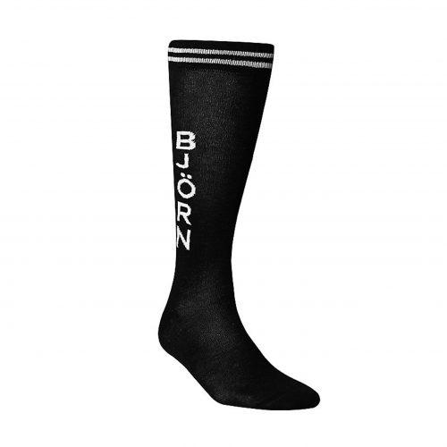 BJORN BORG Black Knee High Bjorn Socks