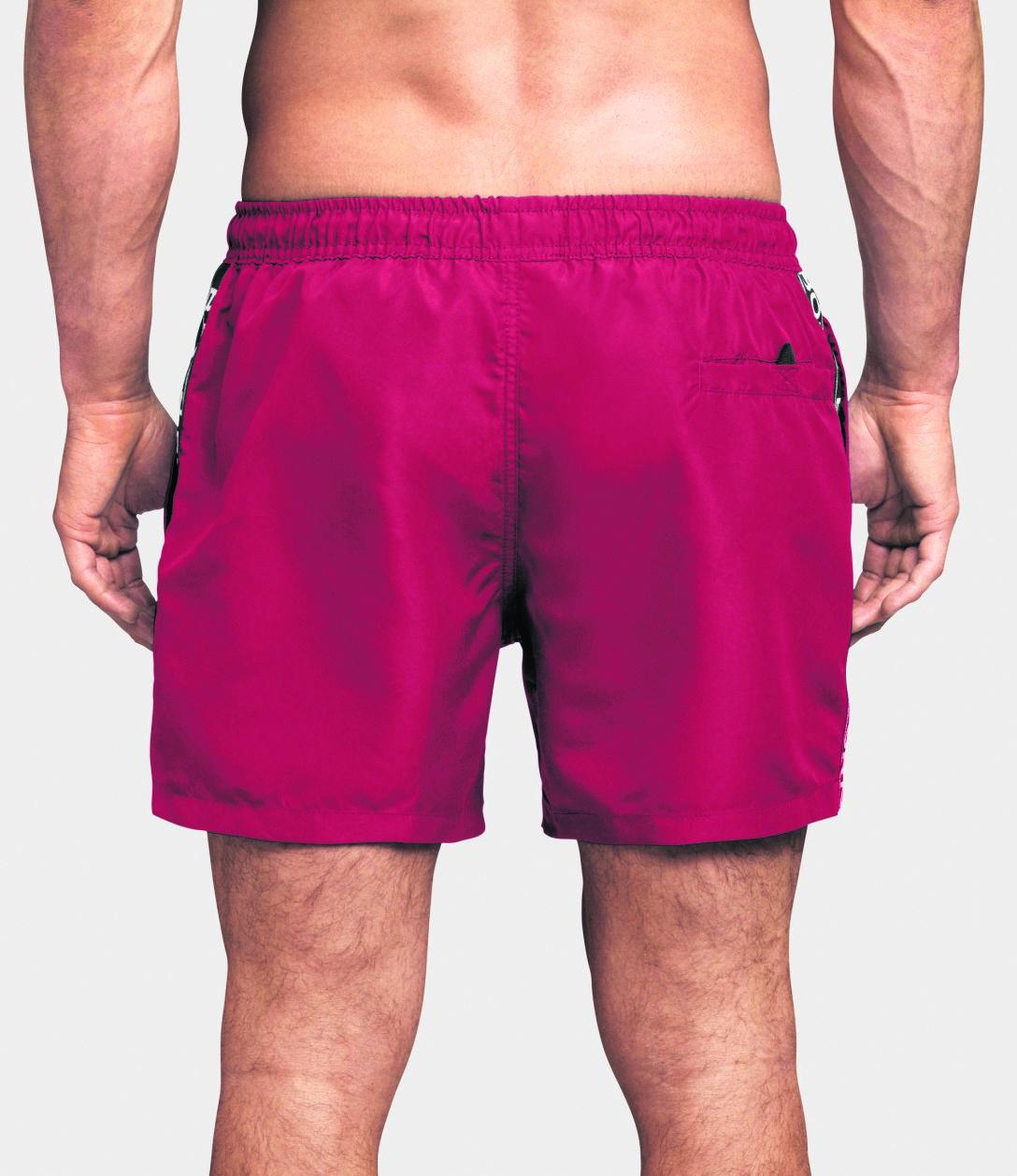 Bjorn Borg Mid Shorts Logo True Red Strip Boutique