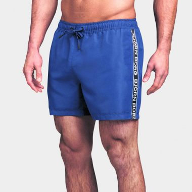 BJORN BORG Mid Shorts Logo Medieval Blue