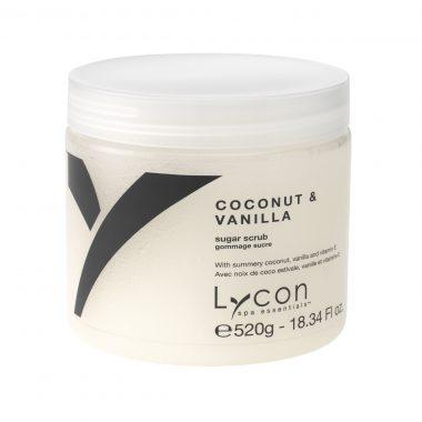 LYCON Coconut & Vanilla Sugar Body Scrub